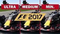 f1 2017 pc f1 2017 pc 1080p utra medium min comparaison