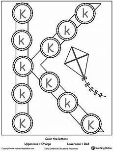 letter k worksheets for preschoolers 23695 recognize uppercase and lowercase letter k uppercase lowercase letters lower letters