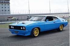 aussie in the states pro touring 1976 ford falcon xb goes