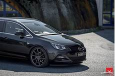 tuning opel astra j tourer front and side