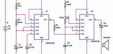 555 timer circuit diagram siren simple schematic simple police siren circuit electronic siren circuit diagram using 555 timer
