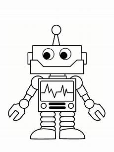 Malvorlagen Roboter Free Robot Coloring 30 Drawings To Print For Free Coloring