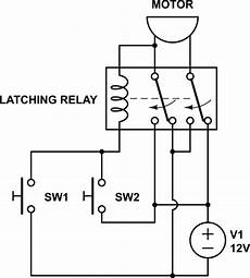 switches change direction of 12v dc motor rotation using relay electrical engineering stack