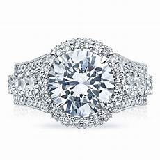 tacori engagement rings royalt halo setting 2 43 ctw