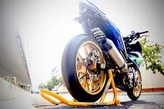 Modifikasi Mx King Movistar by Modifikasi Jupiter Mx King Berkonsep Yamaha M1 Bikin