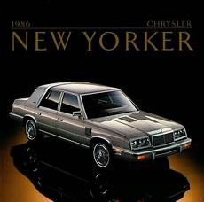 Curbside Classic 1986 Chrysler New Yorker Just A