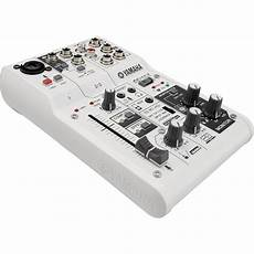 usb audio interface vs mixer yamaha ag03 3 channel mixer usb audio interface ag03 b h