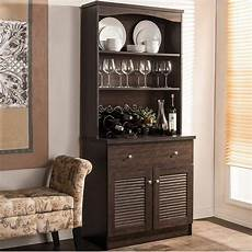 Kitchen Buffet Hutch For Sale by Espresso Buffet Microwave Kitchen Storage Cabinet Cupboard