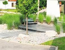 Kiesbeet Modern Anlegen Gartengestaltung Mit Steinen Und