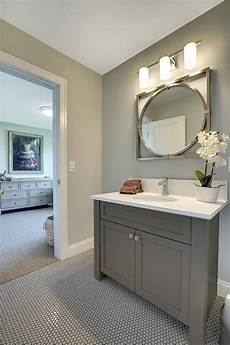 paint color with grey vanity two story family home layout ideas bathrooms and laundries pinterest grey bathroom