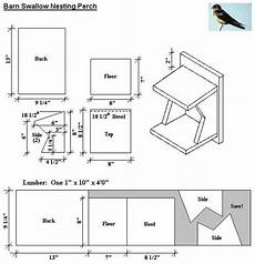 swallow bird house plans barn swallow bird house plans diy for wild birds