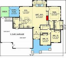 rambler house plans with basement plan 89874ah rambler with finished lower level house