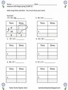 addition with regrouping worksheets with base ten blocks 9691 2 digit addition subtraction with without regrouping using base ten blocks