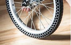tires allow you to pedal without the fear of a flat