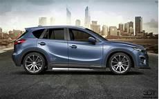 Mazda 2017 3d Tuning Mazda Cx5 Blue Sky Mazda Car