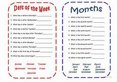 days and months worksheet free esl printable worksheets made by teachers
