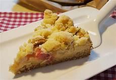 Rhabarberkuchen Mit Pudding Und Streusel - rhabarber streuselkuchen mit vanillepudding rezept mit
