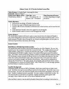 british imperialism of india lesson plans worksheets
