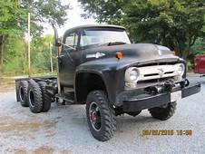 1956 Ford T 700 All Wheel Drive Truck For Sale In Harvard