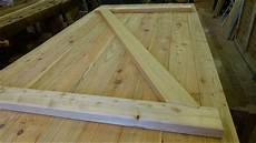 Building A Batten Wood Door With Step Joint