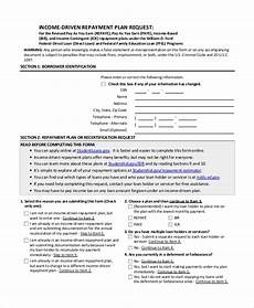 how to apply for income driven repayment plans nelnet partner solutions sle income based repayment form 6 exles in pdf