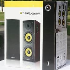 thonet vander hoch powered bookshelf speaker review audioholics