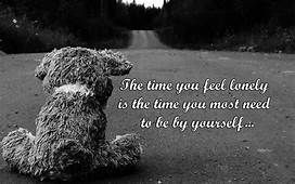 Quotes About Loneliness Sad Thoughts  My Site