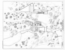 frank lloyd wright waterfall house plans site plan fallingwater ohiopyle fayette county pa