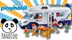 playmobil familien wohnmobil ausgepackt und angespielt