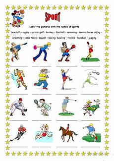 sports worksheets free 15797 sport 3 worksheet free esl printable worksheets made by teachers