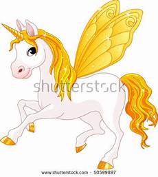 Malvorlagen Unicorn Yellow Yellow Winged Of Rainbow Colored
