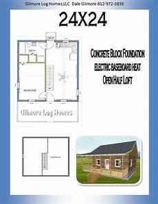 24x24 house plans gilmore log homes floor plans