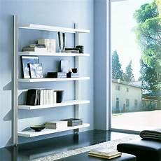 libreria a scaffali brody libreria a giorno da parete in acciaio e alluminio