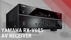 yamaha rx v685 av receiver look