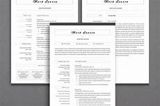 resume formating multiple pages minimal resume 3 pages cv template for word two page