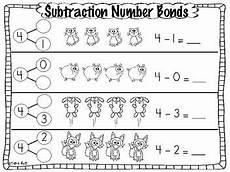 2nd grade math worksheet number bonds subtraction common number bond practice pages