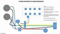radiator fan diagram corvetteforum chevrolet corvette discussion