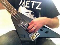 Hondo Deluxe 860 Flying V Electric Bass Guitar