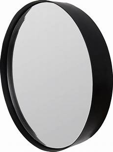 runder wandspiegel runder wandspiegel mit matt schwarzem stahlrahmen