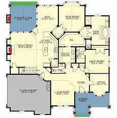 rambler house plans with walkout basement plan 23497jd rambler with unfinished basement in 2020
