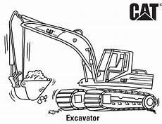 Ausmalbilder Kinder Bagger Excavator Coloring Pages Coloring Home