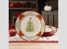 The Pioneer Woman Garland 10.8 Inch Dinner Plates, Set of 4