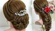 2 hairstyles for hair tutorial bridal updo easy