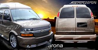 Custom Chevy Van Body Kit 2003  2018 $109000 Part