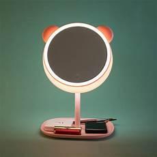 Cermin Makeup Dengan Lu Led Ring Light Model