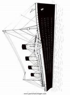 titanic gratis malvorlage in boote transportmittel ausmalen