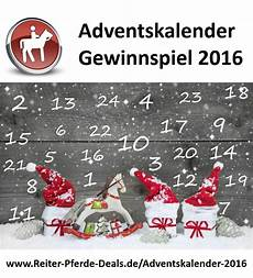 Adventskalender 2016 Reiter Pferde Deals