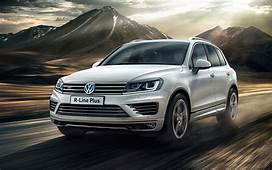 Volkswagen Unveils Premium R Line Plus Package For Touareg
