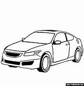 Honda Accord Coupe Mugen CARS Coloring Pages  Kids