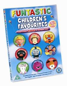 children s favourites funtastic children s favourites dvd 2005 5034217421032 ebay